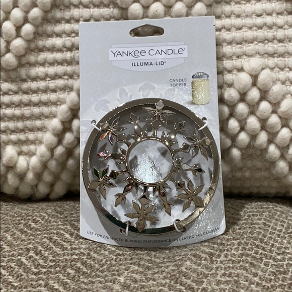 Yankee Candle Wine Leaves Illuma-Lid topper lid